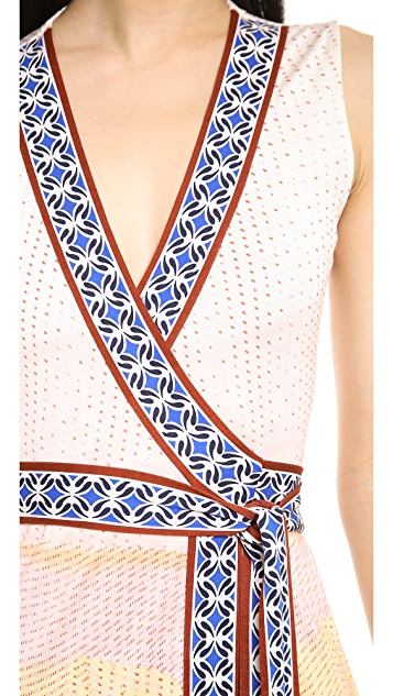 Diane von Furstenberg New Yahzi Wrap Maxi Dress