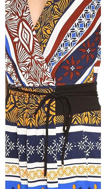 Diane von Furstenberg New Oblixe Mini Wrap Dress