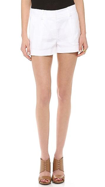 Diane von Furstenberg Naples Linen Shorts
