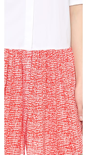 Diane von Furstenberg Alison Collared Dress
