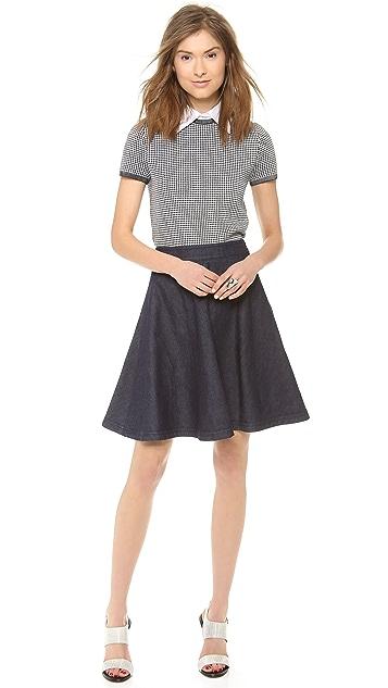Diane von Furstenberg Amelia Denim Skirt