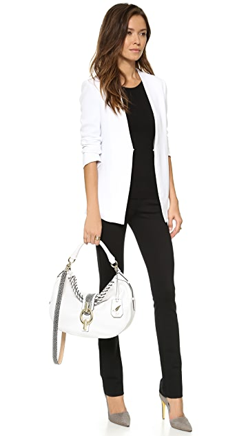 Diane von Furstenberg Laced Leather Sutra Hobo