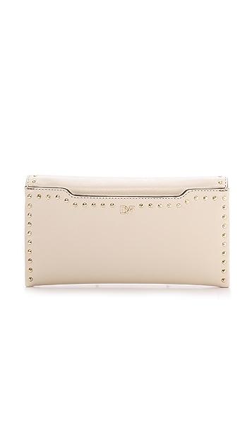Diane von Furstenberg 440 Envelope Studded Clutch