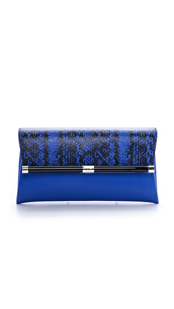 Diane von Furstenberg 440 Envelope Clutch with Exotic Print