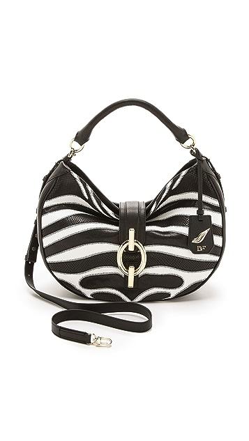 Diane von Furstenberg Sutra Hobo Bag in Patchwork Zebra