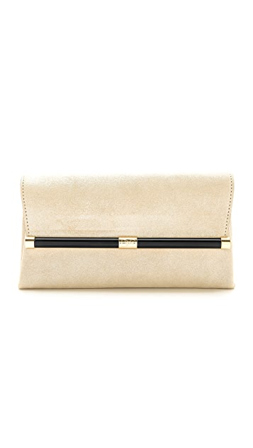 Diane von Furstenberg 440 Diamond Dust Envelope Clutch