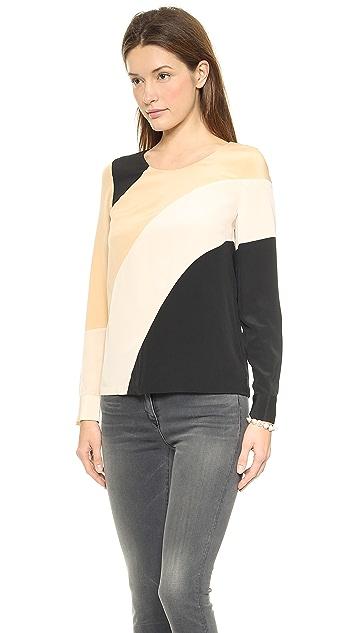 Diane von Furstenberg Seraphina Long Sleeve Blouse
