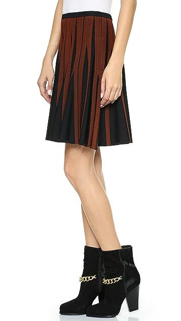 Diane von Furstenberg Cacey Flared Skirt