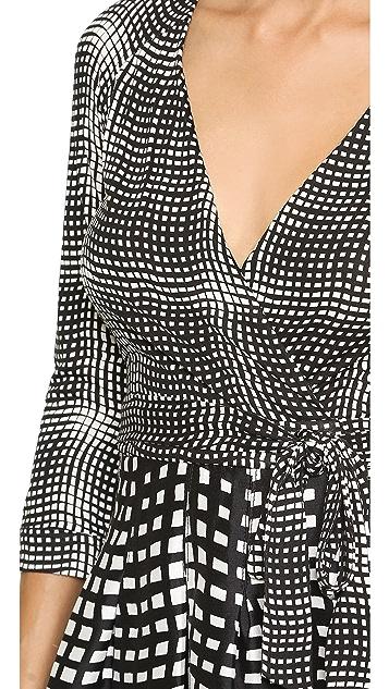 Diane von Furstenberg Amelia Two Wrap Dress