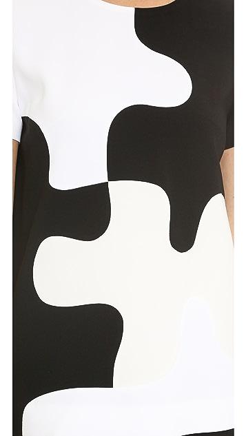 Diane von Furstenberg Mel Puzzle Top