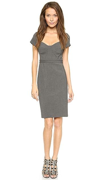 Diane von Furstenberg Katrina Cap Sleeve Dress