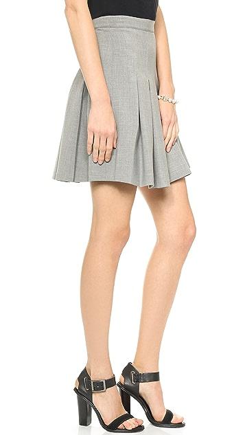 Diane von Furstenberg Gemma Pleated Skirt