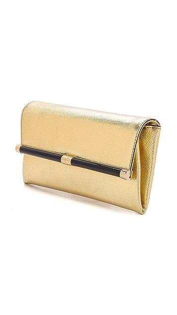 Diane von Furstenberg 440 Metallic Envelope Clutch