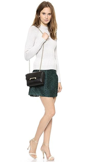 Diane von Furstenberg 440 Lizard Embossed Mini Bag