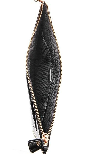 Diane von Furstenberg Glam Zip Pouch