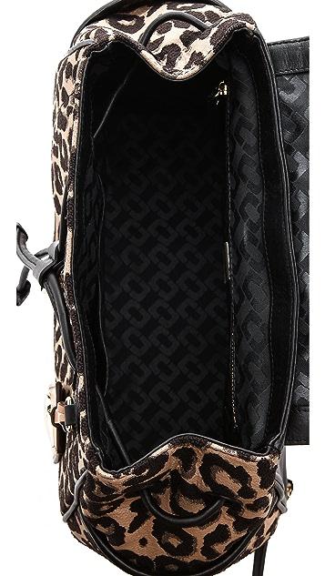 Diane von Furstenberg Sutra Leopard Backpack