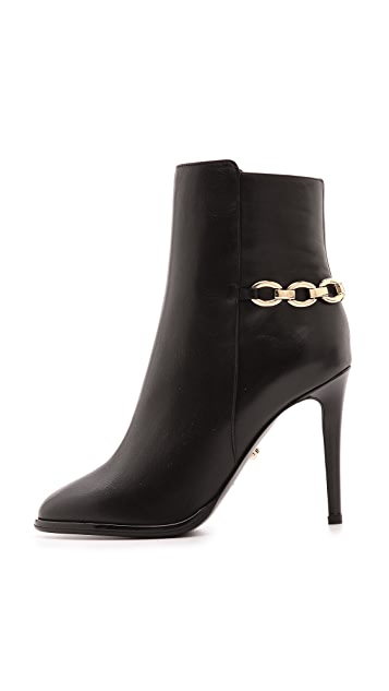 Diane von Furstenberg Beckett Chain Booties