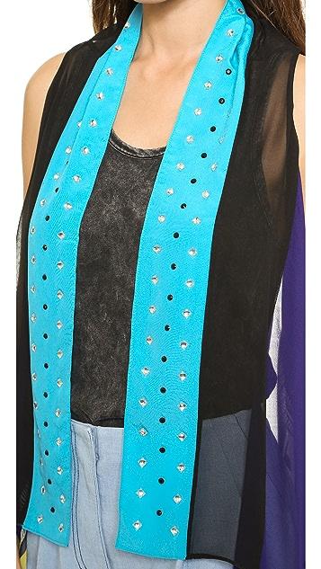 Diane von Furstenberg Long Serape Vest