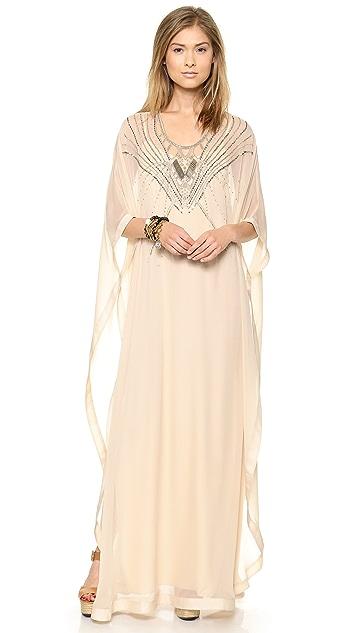 51f090dc5898e Diane von Furstenberg Clare Beaded Caftan Maxi Dress | SHOPBOP