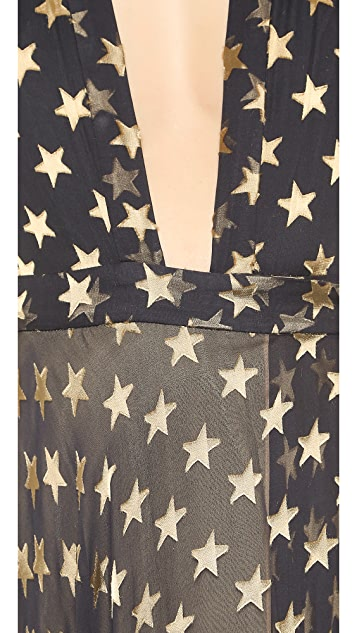 Diane von Furstenberg Tamara Wrap Gown