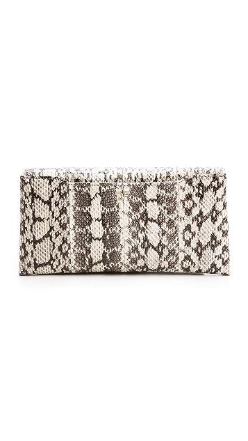 Diane von Furstenberg 440 Snake Envelope Clutch