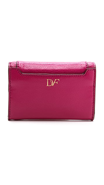 Diane von Furstenberg 440 Flap Card / Key Holder