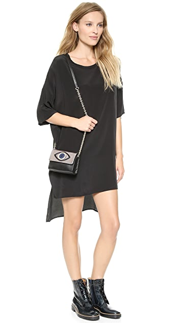 Diane von Furstenberg Evil Eye Micro Mini Bag