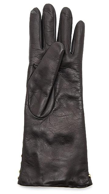 Diane von Furstenberg Studded Gloves