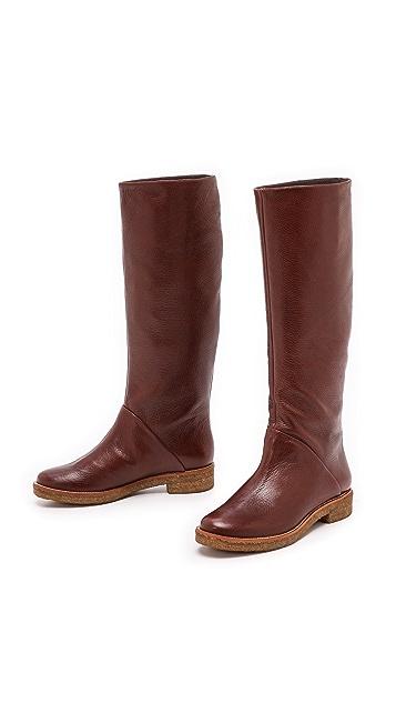 Diane von Furstenberg Ainsley Flat Boots