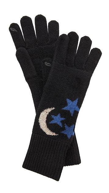 Diane von Furstenberg Knit Gloves