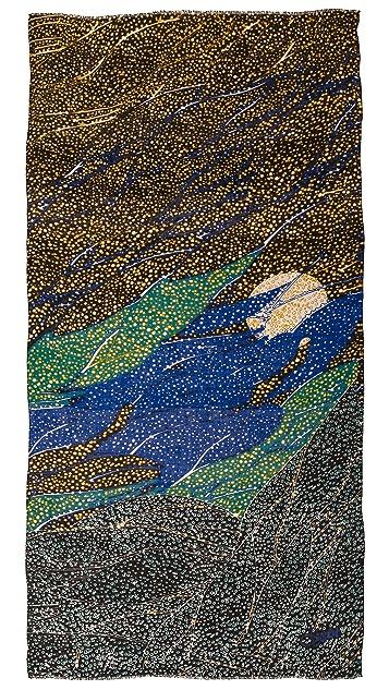 Diane von Furstenberg Mountain Jewel Scarf