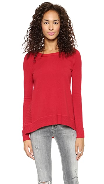 Diane von Furstenberg Long Sleeve Cashmere Sweater
