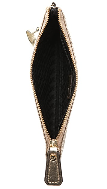 Diane von Furstenberg Glitterati Wristlet