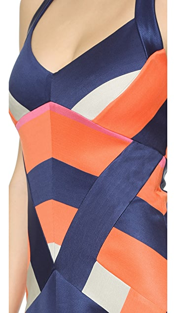 Diane von Furstenberg DVF Harbor Halter Dress