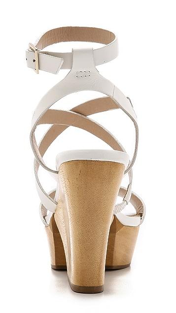 Diane von Furstenberg Сандалии Lamille на платформе с ремешками