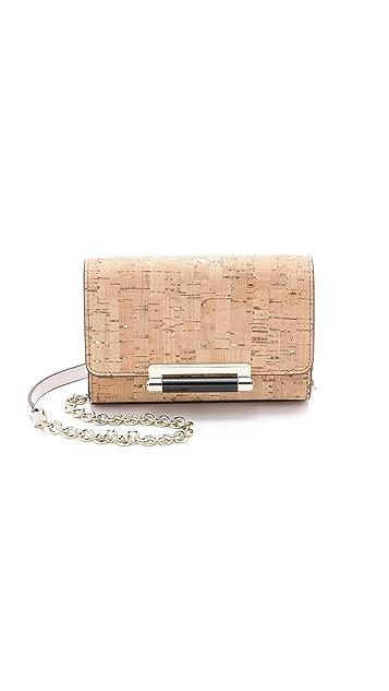 Diane von Furstenberg 440 Metallic Cork Micro Mini
