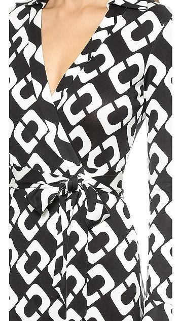 Diane Von Furstenberg New Jeanne Two Wrap Dress Shopbop