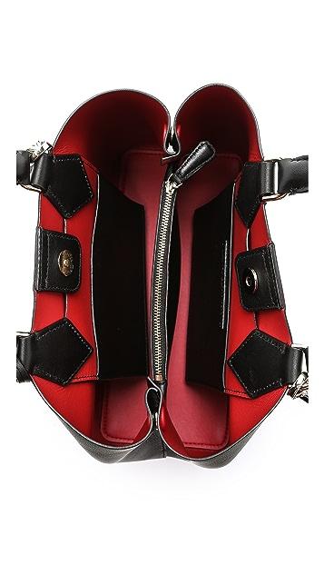 Diane von Furstenberg Voyage On the Go Small Carryall Bag