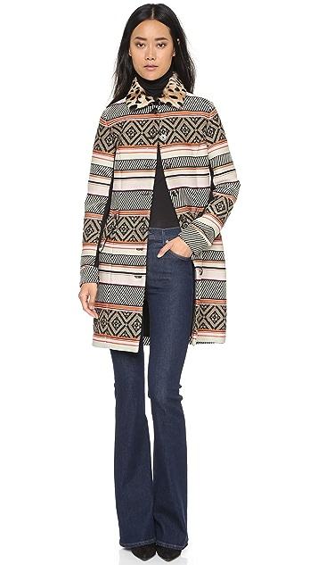 Diane von Furstenberg Allena Coat
