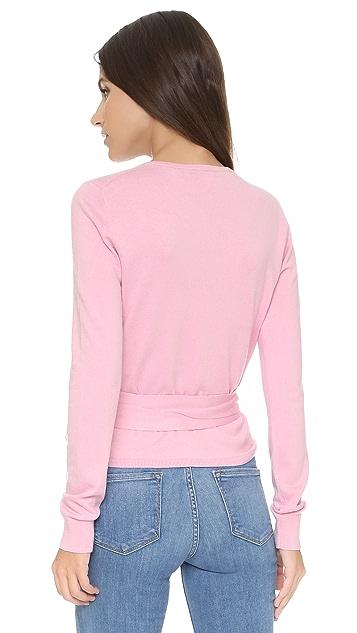 Ballerina Silk Wrap Sweater