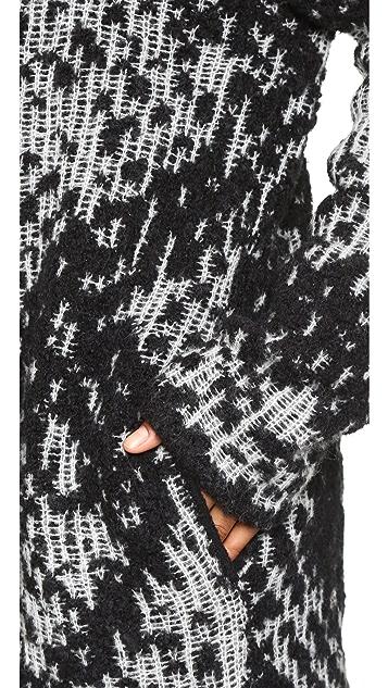 Diane von Furstenberg Mercer Sweater Coat