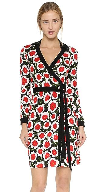 f75e98fd5dd0e Diane von Furstenberg New Jeanne Two Wrap Dress   SHOPBOP