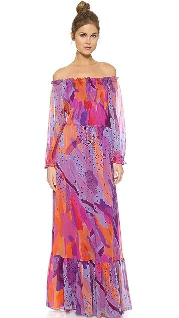 Diane von Furstenberg Camila Maxi Dress