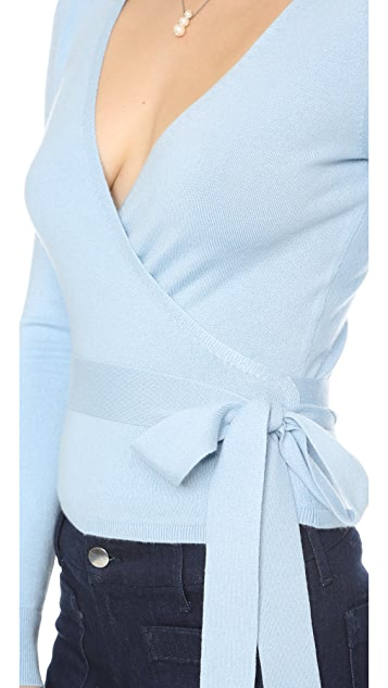 Diane von Furstenberg Ballerina Wrap Sweater