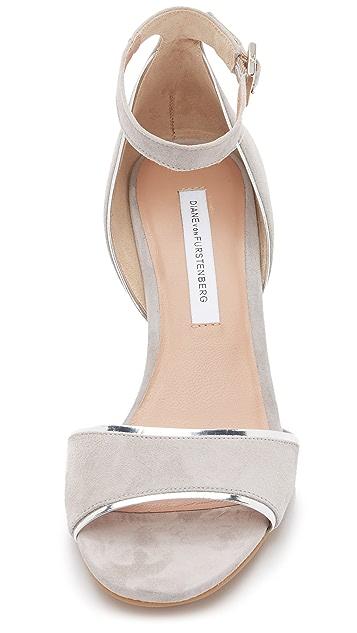 Diane von Furstenberg Asti Wedge Sandals