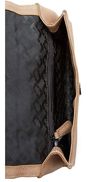 Diane von Furstenberg 440 Shimmer Embossed Clutch