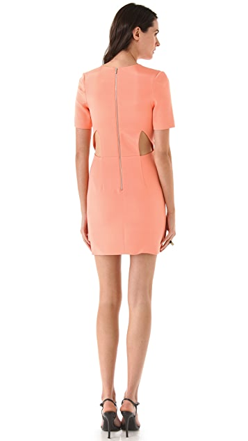 Dion Lee Slashed Mini Dress