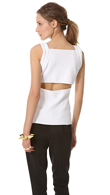 Dion Lee Knit Harness Top