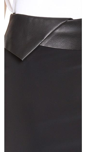 Dion Lee Mirror Zip Skirt