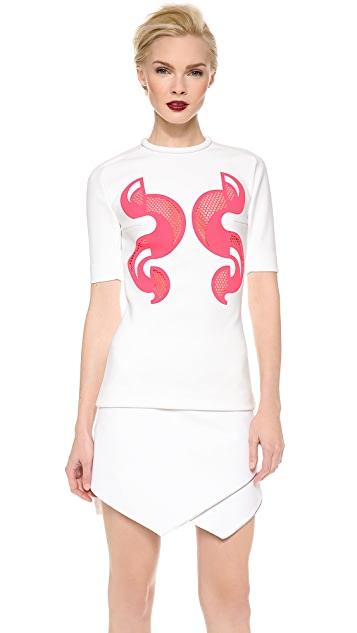 Dion Lee Scuba Lace Rash Top